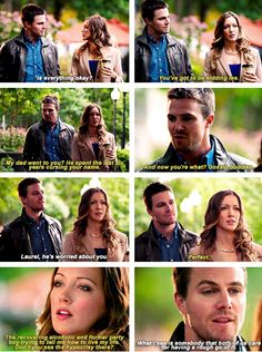 Arrow - Laurel & Oliver #Season2 #2.4