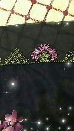 This Pin was discovered by Tuğ Embroidery Stitches, Embroidery Designs, Woolen Craft, Diy Y Manualidades, Piercings, Needle Lace, Bargello, Tatting, Needlework