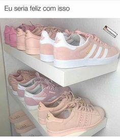 Com toda certeza, eu seria muitoo feliz com isso!! - #tenis #mujer #shoes