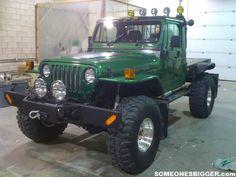 Wrangler Flatbed :-{b> Jeep Brute, Cj Jeep, Jeep Mods, Jeep Suv, Jeep Wrangler Rubicon, Jeep Pickup, Jeep Wrangler Unlimited, Jeep Garage, Jeep Wagoneer