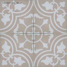 Cement Tile Shop - Encaustic Cement Tile | Bayahibe Ivory