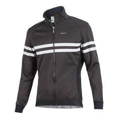 Nalini Pro Gara Black White Thermal Jacket Cycling Gear bef406a9e