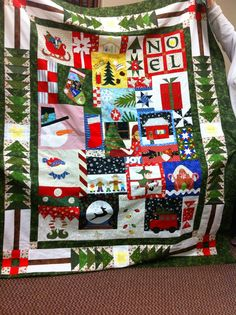 Fawson Farm: Another Round Robin Christmas Quilt
