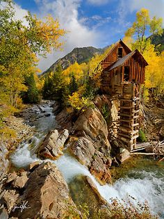 The Crystal Mill near Marble,CO. What a fun off-road drive to get there! Been there, done that....