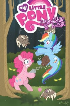 My Little Pony Friendship Is Magic #2 Cover C Pinkie Pie & Rainbow Dash (My Little Pony Friendship Is Magic)