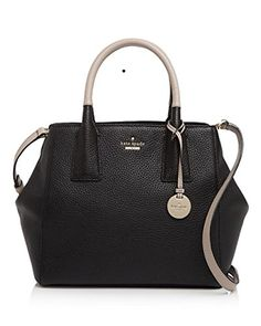 kate spade new york Womens Lark Street Maddie Handbag Black/almondine * Be sure to check out this awesome product.