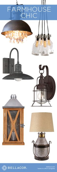 Shop Rustic Farmhouse Chic Lighting & Decor and Save. http://www.bellacor.com/