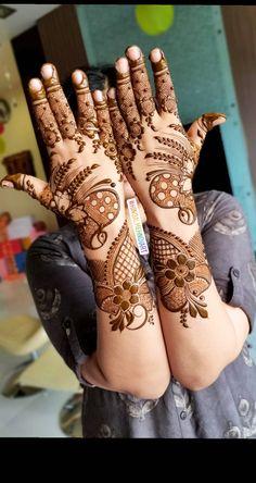 Peacock Mehndi Designs, Khafif Mehndi Design, Henna Art Designs, Stylish Mehndi Designs, Mehndi Designs For Girls, Mehndi Designs For Beginners, Mehndi Design Pictures, Wedding Mehndi Designs, Mehndi Designs For Fingers