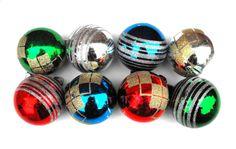 1950s Shiny Brite Christmas Ornaments by ecofriendlyfreckles