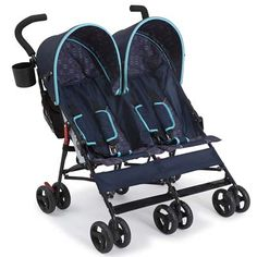 Delta Children LX Side by  Side Tandem  Umbrella  Stroller is one kind of double jogging stroller. It has 25 lbs weight, wide: 33 inches, height: 40 inches, length: 31 inches