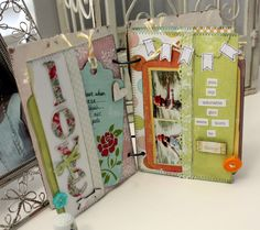 Practical Scrappers: Making a Mini-Album with 6x6 Paper
