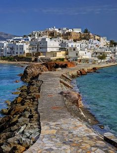 Naxos, Greece by Nikos Golfis