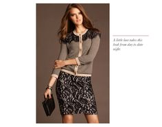 Just need this skirt to be like five inches longer. ANN TAYLOR'S FALL MUST-HAVE LOOKS