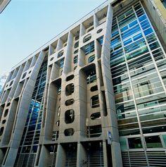 Brutalist Architecture. Banco de Londres, Buenos Aires.