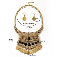Winter.Z Tassel coins jewelry accessories hollow retro fashion sweater chain necklace * Don't get left behind, see this great product offer  : Women's Fashion for FREE