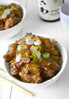 Crispy Orange Cauliflower - A vegetarian version of your favorite Chinese dish