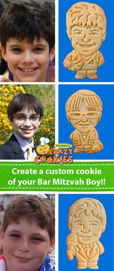 Bar Mitzvah Party Favors - Custom Cookies