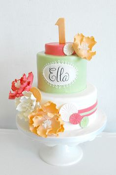 Penny first birthday cake? 24 cute baby cold cake ideas.
