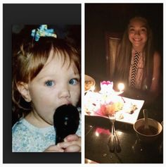 Melissa Gissoni: God blessed me with my sweet loving talented daughter @.madisonziegler1313 12 years ago today. Look how much you've grown. Love you up to the moon and back