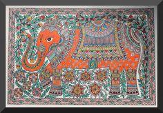 Indian Painting Styles...Madhubani/Mithila  Painting (Bihar)-madhubani-elephants1-3-.jpg