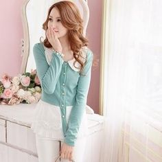 Buy 'Tokyo Fashion – Lace-Hem Cardigan' with Free International Shipping at YesStyle.com. Browse and shop for thousands of Asian fashion items from Taiwan and more!