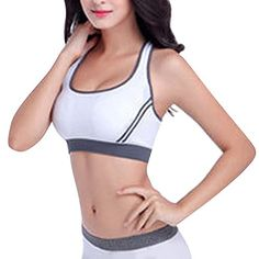 5d9ae5b605 Womens XBack Padded Tank Top Athletic Gym Fitness Running Sports Bras      Want additional