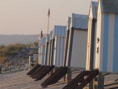 Hardelot,les cabines de plage. Pas-de-calais, France. Épinglé sur