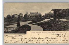 Old Photos of Newark NJ | Old Postcard~Branch Brook Park..Newark,New Jersey/NJ