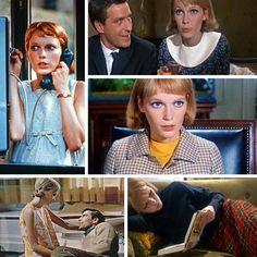"""Mia Farrow's style in """"Rosemary's Baby."""""""