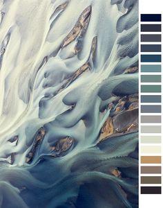 landscape black blue colors brown yellow light blue g gray iceland transparent dark blue color palette