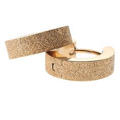 BESTSELLER! Golden Sand Stainless Steel Earrings $1.99