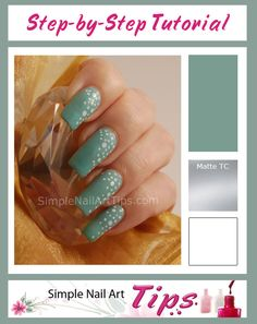 34 Best Simple Nail Art Tips Images On Pinterest Easy Nail Art