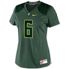 University of Oregon Football S Jersey Fitted EUC mighty Oregon Ducks football jersey! Worn once, no rips tears or stains! Nike Tops