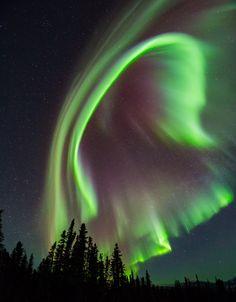 Aurora boreal, Finlandia.