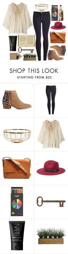 """""""Untitled #4829"""" by prettyorchid22 ❤ liked on Polyvore featuring HOWSTY, Joules, American Rag Cie, Vince, Bebe, Jayson Home, NARS Cosmetics, Laura Ashley and STOW"""