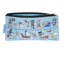 Tyrrell Katz of London does it again with these delightful pencil cases featuring hand drawn illustrations of pi. Dog Hammock, Walking The Plank, Rope Swing, Treasure Maps, Jolly Roger, Cannon, How To Draw Hands, Coin Purse, Wallet