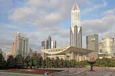 People's Square, Skyscrapers, Skyline, Shangahi