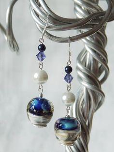Hyacinth Dream Earrings -SOLD