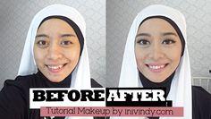 Tutorial Makeupku Ke Kondangan (Caraku Meng-cover Bekas Jerawat)