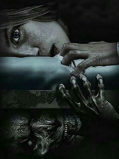 THE MONSTERS UNDER YOUR BED MOVE INSIDE YOUR HEAD AS YOU GROW OLDER.