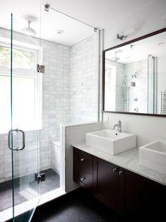 Classic Contemporary Washroom, Contemporary Bathroom, Toronto