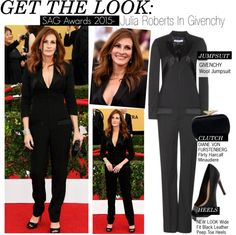 """""""Get The Look-Julia Roberts In Givenchy(SAG Awards 2015)"""" by kusja on Polyvore"""