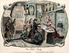 The Gin Shop carving 500x385