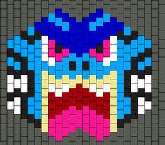 Gyarados_mask by Raveslave9894 on Kandi Patterns
