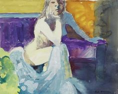 urgetocreate: Paul Wonner, The Model with Pensive Look, 1964