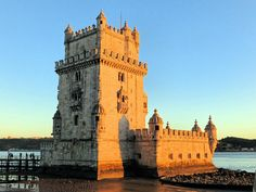Beautiful sunset in the Belem tower, Lisbon. Please share your travel moments with us with #momentsandmementos and tag @GiftOmi . Collect moments & mementos - GiftOmi.com -  #souvenir #gift #memento #Collectmoments #sharemoments #travelmoments #travel #moments #shopping #gifting #interesting #gifts #traveling #trip #moment #landscape #travelblog #travelblogger #travelphotography #picoftheday #tripadvisor #lonelyplanet #wandergo #lisbon #belem #portugal #journey
