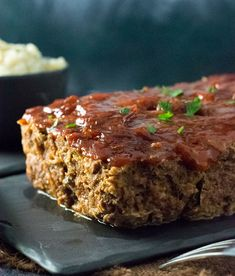 This savory Venison Meatloaf recipe is delectably tender, perfectly seasoned, and lacquered in a rich and tangy sauce! This recipe will quickly become a favorite use of deer meat! Deer Burger Recipes, Elk Recipes, Smoked Meat Recipes, Mince Recipes, Cooking Recipes, Sausage Recipes, Game Recipes, Recipies, Venison Meatloaf Recipe