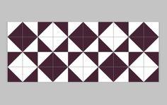 Raiz Purple Ceramic Tile // Azulejo Raiz Roxo // Shop Online http://www.lurca.com.br/  #azulejos #azulejosdecorados #revestimentos #arquitetura #interiores #decor #design #sala #reforma #decoracao #geometria #casa #ceramica #architecture #decoration #decorate #style #home #homedecor #tiles #ceramictiles #homemade