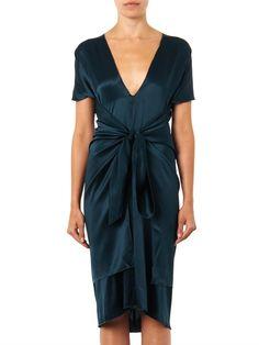 Lizzie silk-satin dress   Issa   MATCHESFASHION.COM