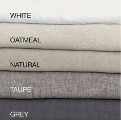 LINEN DUVET COVER and two pillowcases. French linen bedding set of 3 pieces. MOOshop linen new colours Ruffle Duvet, Linen Duvet, Linen Curtains, Bed Linens, Linen Pillows, California King, Linen Sheets, Bed Linen Sets, Bed Sheets